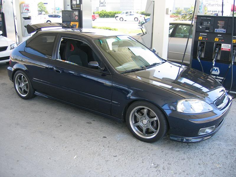 phunhaus 1996 Honda Civic hatchback