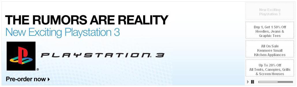 PS3 Slim pre-order Kmart