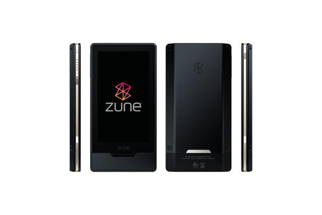 Microsoft Zune HD Black
