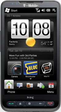 T-Mobile HTC HD2 - Windows Mobile Phone