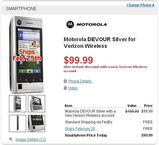 Motorola DEVOUR - Best Buy