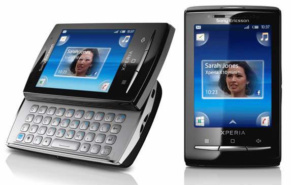 Sony Ericsson - Xperia X10 mini and Xperia X10 mini pro