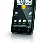 HTC EVO 4G - Front Angle View - Sprint