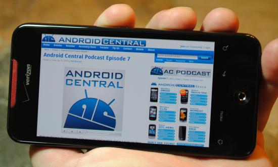 Android Central - DROID Incredible Review