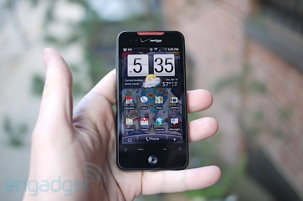 Engadget - DROID Incredible Review