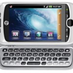 myTouch 3G Slide - T-Mobile - front qwerty view