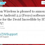 Droid Incredible – Android 2.2 Update