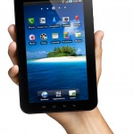 Samsung Galaxy Tab - In Hand View