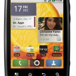 Motorola CITRUS - Verizon - Android Phone - Front View