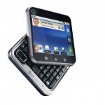 Motorola FLIPOUT - AT&T - Android Phone - Front Open View