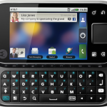 Motorola FLIPSIDE - AT&T - Android Phone - Front Open View
