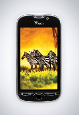 myTouch - T-Mobile - Android Phone - Front View
